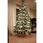 7FT Green Christmas Tree Holiday Festival Home Xmas Decor In Outdoor w Stand