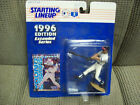 Garret Anderson 1996 Starting Lineup Extended Series Figure with Card