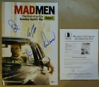 Signed MAD MEN Autographed By 5 12