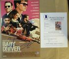Signed BABY DRIVER Autographed By 3 12
