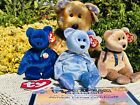 Ty Beanie Babies Clubby Clubby II Clubby III Lot Of Four Retired Mint With Tags