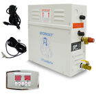 9KW Steam Generator+ST 135M Controller Shower Sauna Bath Home Spa in USA