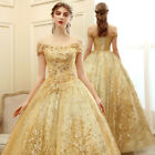 NEW Evening Formal Party Ball Gown Prom Bridesmaid Princess Sequins Dress SMFS62