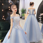 NEW Evening Formal Party Ball Gown Prom Bridesmaid Host Show Long Dress SMFS076