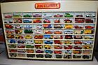 Matchbox store display case with cars RARE
