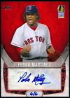 Pedro Martinez 2014 Topps Industry Summit autograph auto 6 6 HOF Red Sox