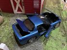 FRANKLIN MINT Nassau Blue 1999 Chevy Corvette DIECAST 1 24