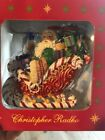CHRISTOPHER RADKO Candy Ride Santa II Ornament 2002 NEW IN BOX Christmas