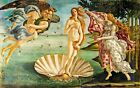Wooden Jigsaw Puzzle The Birth of Venus by Sandro Botticelli Whimsy details