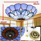 Stained Glass Romance Style Hanging Pendant Light Ceiling Lighting Lamp Fixture