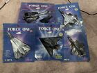 ERTL Force One Diecast SR 71 F 14 Stealth F 16 F 15 USAF Sealed Vintage Toy 80s