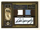 DALE MURPHY 2004 Timeless Treasures Home Away Gamers DUAL JERSEY AUTOGRAPH # 25