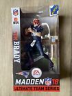 NFL Tom Brady McFarlane Madden 18 Ultimate Team 1 Patriots Color Rush