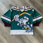 Authentic Anaheim Mighty Ducks Small CCM Jersey 1995 Wild Wing