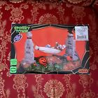 Lemax Spooky Town EZ Livin Bag O' Bones Animated Halloween Village Decor 2012