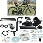 50cc Bike 2 Stroke Gas Engine Motor Kit Motorized Bicycle Black Full Set Black