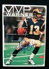 Kurt Warner Cards, Rookie Cards and Autographed Memorabilia Guide 16