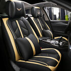 5 Sits Car Seat Covers Cushion Protector Auto Accessories SUV Interior 4 Seasons