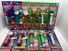 Lot Of 11 Christmas Holiday Pez Dispensers Rare New Sealed