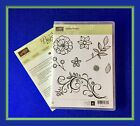 Stampin Up FALLING FLOWERS Stamp Set  MAY FLOWERS Framelits GREAT dies 2
