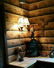 Log Wallpaper Rustic Cabin Lodge Pre Pasted bolt 6075 sqft made in the USA