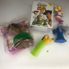 A Lot Of Happy Meal Type Toys Disney Toy Story 2 Woody Mervin Daisy Pluto Pez