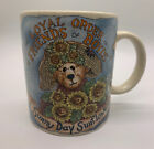 Boyds Collection Bears Sunny Day Sunflower Bearware Pottery Works Coffee Mug Cup