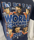 Houston Astros World Series 2017 Champions T Shirt Large, L Faces