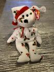 1998 HOLIDAY TEDDY Ty Beanie Baby 6th Generation