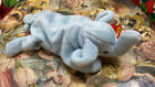 TY Beanie Baby - PEANUT the Elephant (light blue) (9 inch)