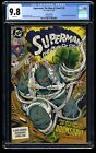 Superman: The Man of Steel #18 CGC NM M 9.8 White Pages 1st Doomsday! 2nd Print!