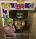 Funko Pop! Rides Invader Zim: Zim and Gir on The Pig Hot Topic Exclusive #49