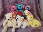 Lot of 6 Different TY BEANIE BABIES OF THE MONTH MWMT Includes Dreamer Sparkles