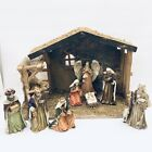 The Promise of Christmas Robert Stanley 8 Figure Crche Stable Nativity 2016