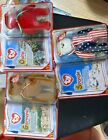 Germania Osito & Spangle Mcdonalds Ty Beanie baby set in new unopened condition