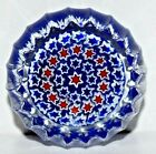Extraordinary Peter McDougall Small Ribbed Millefiori Paperweight