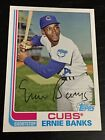 ERNIE BANKS 2013 Topps Archives Chicago Cubs STADIUM SEASON GIVEAWAY CUBS-20