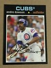 ANDRE DAWSON 2013 Topps Archives Chicago Cubs STADIUM SEASON GIVEAWAY CUBS-8