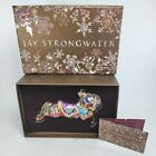 Jay Strongwater Carousel Horse w Swarovski Crystals Christmas Ornament