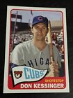 DON KESSINGER 2013 Topps Archives Chicago Cubs STADIUM SEASON GIVEAWAY CUBS-4