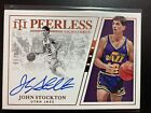 2019-20 John Stockton National Treasures Peerless Signatures Auto Autograph 15