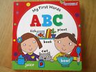 MY FIRST WORDS ABC BOARD BOOK toddler boy girl early learning NEW