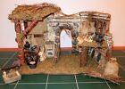 2003 Home Interiors Nativity Stable 56050 HUGE  Intricate Long Retired Gift