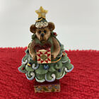Jim Shore 2009 CHARLIE GIVINGIFTS...OH CHRISTMAS TREE Boyds Figurine 5.5''