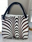 Hand Blown Glass Murano Style Large Purse 12 Inches stunning