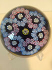 1975 WHITEFRIARS INTERLACED DOUBLE TREFOIL GARLANDS PAPERWEIGHT ENGLAND