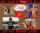 NEW 2021 SAGE HIT PREMIER DRAFT LOW SERIES Football HOBBY Box Pre Sell 16 AUTO🔥