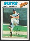 TOM SEAVER 1977 Topps #150 AUTOGRAPH Auto METS Signed Reds HOF White Sox d.2020