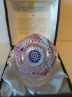 1976 WHITEFRIARS LIBERTY BELL SILHOUETTE PAPERWEIGHT LMTD ED BOX CERTIFICATE