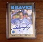 2021 Topps Series 1 Dale Murphy 1986 Style Gold Autograph 31 50